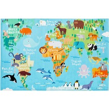 Obsession Teppich My Torino Kids 233 world map 160 x 230 cm