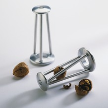 ODIN Nussknacker TWISTER silber Ø 70 mm x 160 mm
