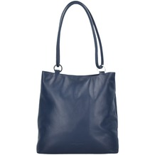 Offermann Schultertasche Leder 26 cm midnight blue
