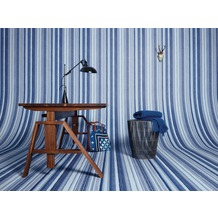 Oilily Home Mustertapete Oilily Young, Papiertapete, blau, grau