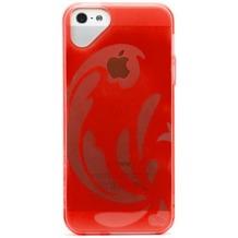 Olo Glacier für iPhone 5/5S/SE, rot
