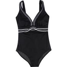Olympia Beachfashion Badeanzug schwarz/weiß 38B