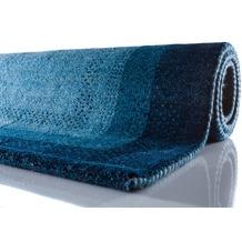 Zaba Gabbeh-Teppich Dallas blau 60 cm x 90 cm