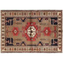 Oriental Collection Hamadan Teppich Khamseh 135 x 195 cm