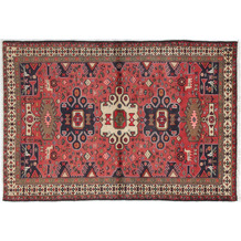 Oriental Collection Hamadan Orientteppich Khamseh 135 x 200 cm