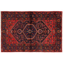 Oriental Collection Hamadan Teppich Khamseh 135 x 202 cm