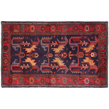 Oriental Collection Hamadan Teppich Khamseh 135 x 220 cm