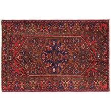 Oriental Collection Hamadan Teppich Khamseh 140 x 205 cm