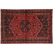 Oriental Collection Hamadan Teppich Khamseh 140 x 210 cm