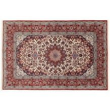 Oriental Collection Isfahan Teppich auf Seide 157 cm x 245 cm