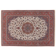 Oriental Collection Isfahan Teppich auf Seide 205 cm x 308 cm