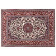 Oriental Collection Isfahan Teppich auf Seide 210 cm x 312 cm