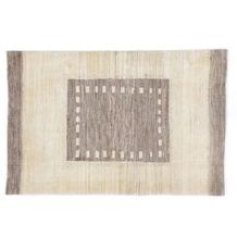 Oriental Collection Gabbeh-Teppich Loribaft 113 cm x 172 cm beige-grau