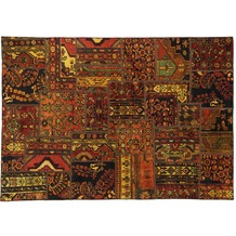 Oriental Collection Patchwork Persia 143 x 205 cm stark gemustert