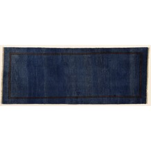 Oriental Collection Gabbeh-Teppich Rissbaft 82 x 210 cm blau