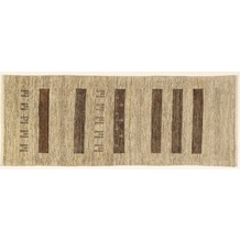Oriental Collection Gabbeh-Teppich Rissbaft 82 x 210 cm beige