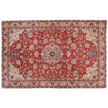 Oriental Collection Sarough Teppich 135 x 210 cm stark gemustert mehrfarbig
