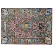 Oriental Collection Täbriz Teppich 50 radj 195 x 275 cm