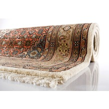 Oriental Collection Bidjar Teppich Varanasi beige 40 x 60 cm