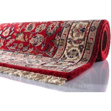 Oriental Collection Teppich Varanasi Isfahan rot 40 cm x 60 cm