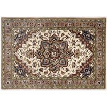 Oriental Collection Heriz Teppich Royal cream / brown 60cm x 90cm