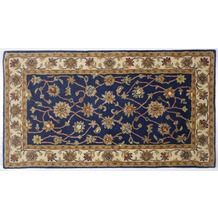 Oriental Collection Ziegler Teppich Royal Ziegler 503 blue / cream 60cm x 90cm