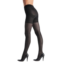 OROBLU Transparente Strumpfhose - Shock Up-Black L