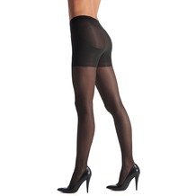 OROBLU Transparente Strumpfhose - Shock Up Light-Black L
