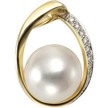 Orolino Anhänger 585/- Gelbgold Perle Brillanten  12867