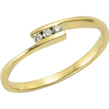 Orolino Ring 585/- Gelbgold Brillant  11551 50 (15,9)