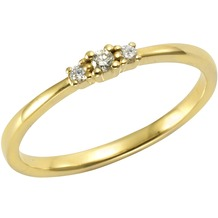 Orolino Ring 585/- Gelbgold Brillant  11555 50 (15,9)