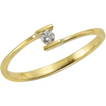 Orolino Ring 585/- Gelbgold Brillant  11543 52 (16,6)