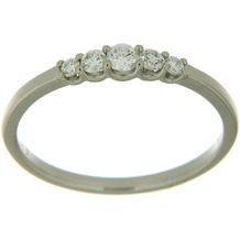 Orolino Ring 585/- Weißgold Brillant  6267 56 (17,8)
