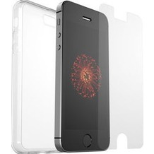 OtterBox Clearly Protected, 100% Clear Skin mit Alpha Glass, Apple iPhone 5/5s/SE