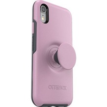 OtterBox Otter + Pop Symmetry Apple iPhone XR - Mauveolous - pink, inkl. Pop Socket & Pop Grip
