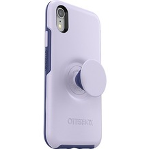 OtterBox Pop Symmetry iPhone XR Lilac Dusk