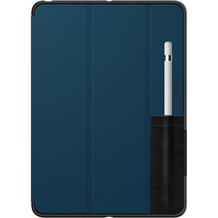 OtterBox Symmetry Folio Case mit Pencil Holder, Apple iPad 9,7 (2017 & 2018), blau, 77-63530