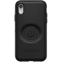 OtterBox Symmetry Pop Apple iPhone XR schwarz Popsocket