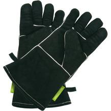 Outdoorchef Lederhandschuhe, 1 Paar, schwarz