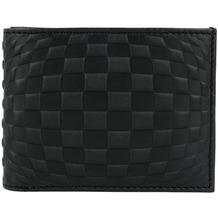 oxmox Leather Geldbörse Leder 10,5 cm checker