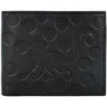 oxmox Leather Geldbörse Leder 12 cm monkey