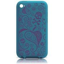 Ozaki iCoat Silicone+ touch für iPod touch 4th, blau