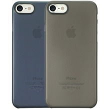 Ozaki O!Coat 0.3 Jelly Case 2 in 1 Set - Apple iPhone 7 - schwarz & blau