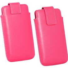 Fontastic OZBO Ledertasche Cora Lift XL - pink - 137x71x10mm