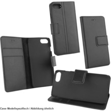 Fontastic OZBO Ledertasche Diary Piel schwarz NFC (RFID) Leseschutz, komp Samsung Galaxy S8