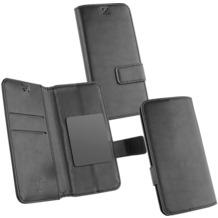 Fontastic OZBO PU Tasche Diary Business 3XL - schwarz - 153x78x9mm