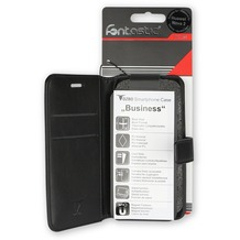 OZBO PU Tasche Diary Business schwarz komp. mit Apple iPhone XR