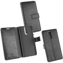 Fontastic OZBO PU Tasche Diary Business schwarz komp. mit Huawei Mate 10 Lite