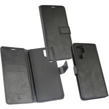 OZBO PU Tasche Diary Business schwarz komp. mit Huawei P30 Pro