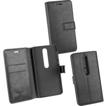 OZBO PU Tasche Diary Business schwarz komp. mit Nokia 6 (2018)